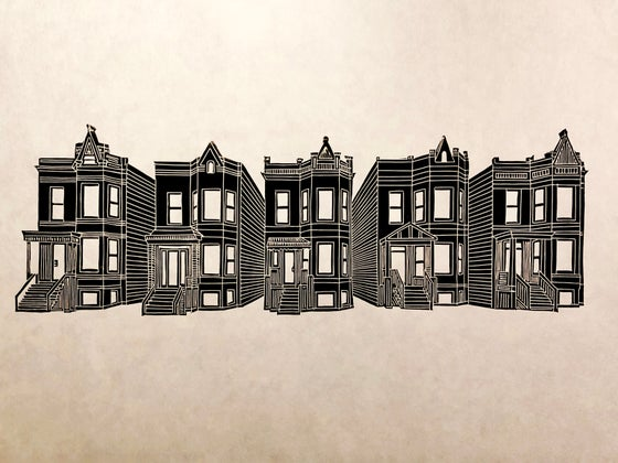 Image of Five of a Kind: the Chicago Greystone