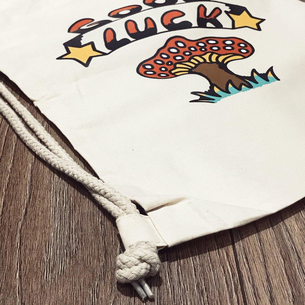Image of Good Luck Drawstring Bag
