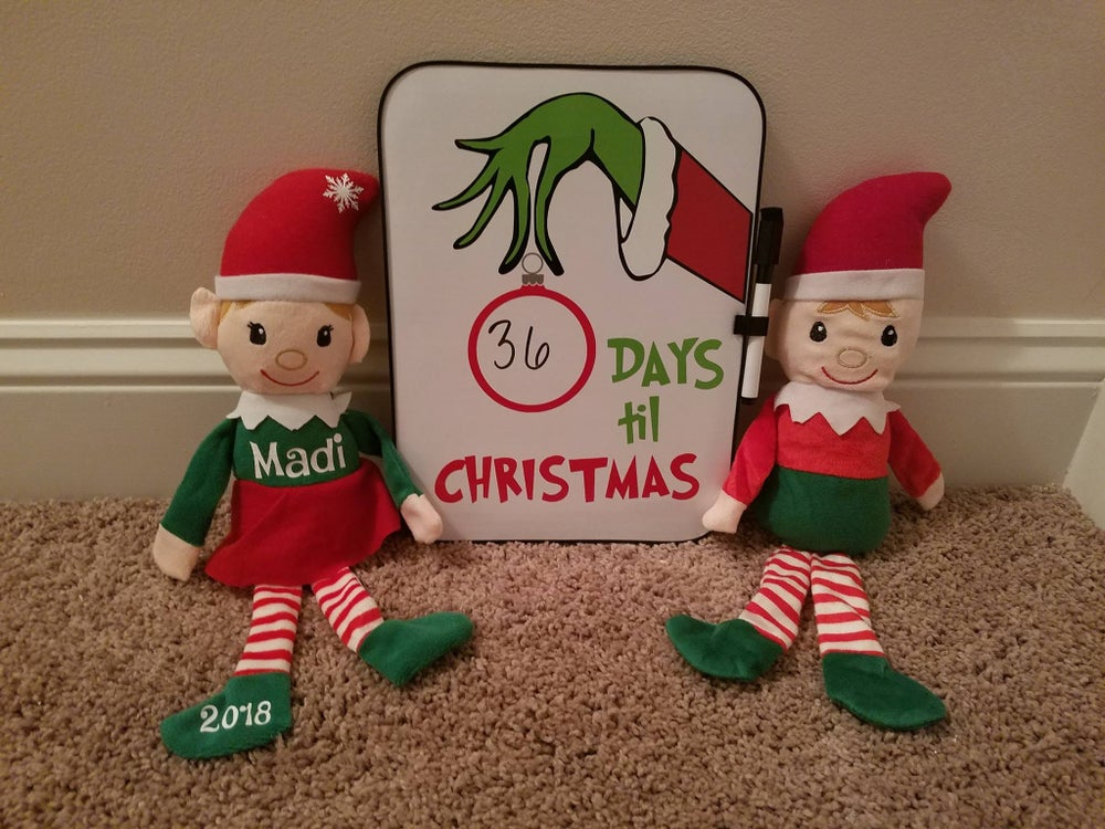 Image of Christmas Countdown Boards