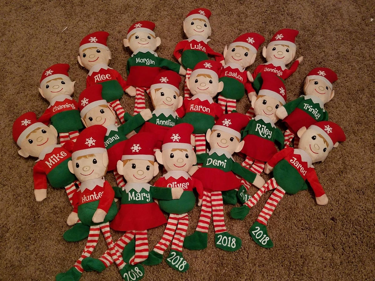 Image of Personalized Christmas Elves