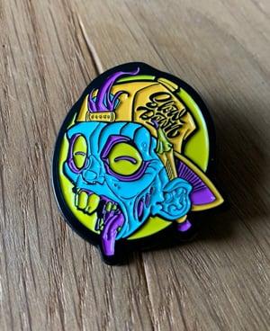 Image of Enamel Zombie Pin