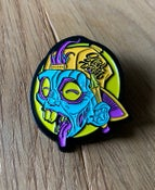 Image of Enamel Zombie Pin