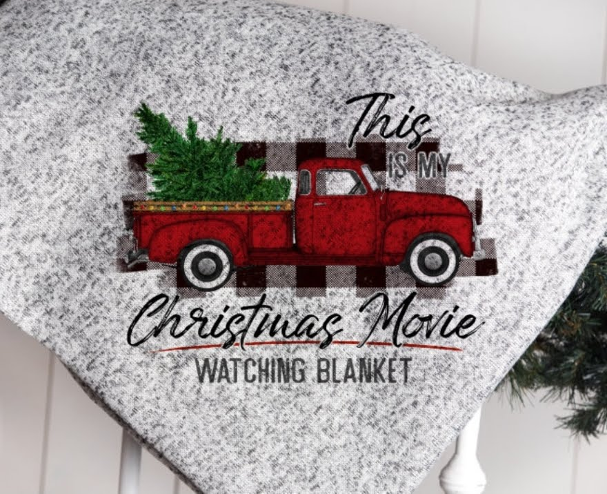 Image of Christmas Movie Blanket