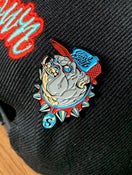Image of Enamel Bulldog Pin