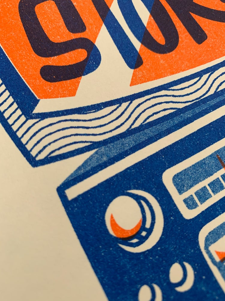 Image of Risograph Print: One Sided Stories