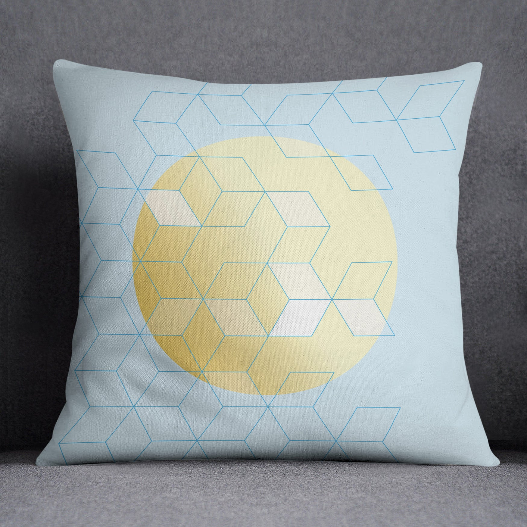 Image of Fly Away Square Throw Pillow