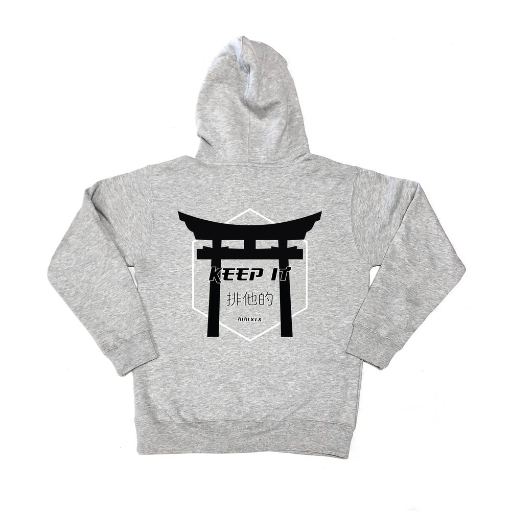 Image of KEEP IT EXCLUSIVE HOODIE - Heather Gray