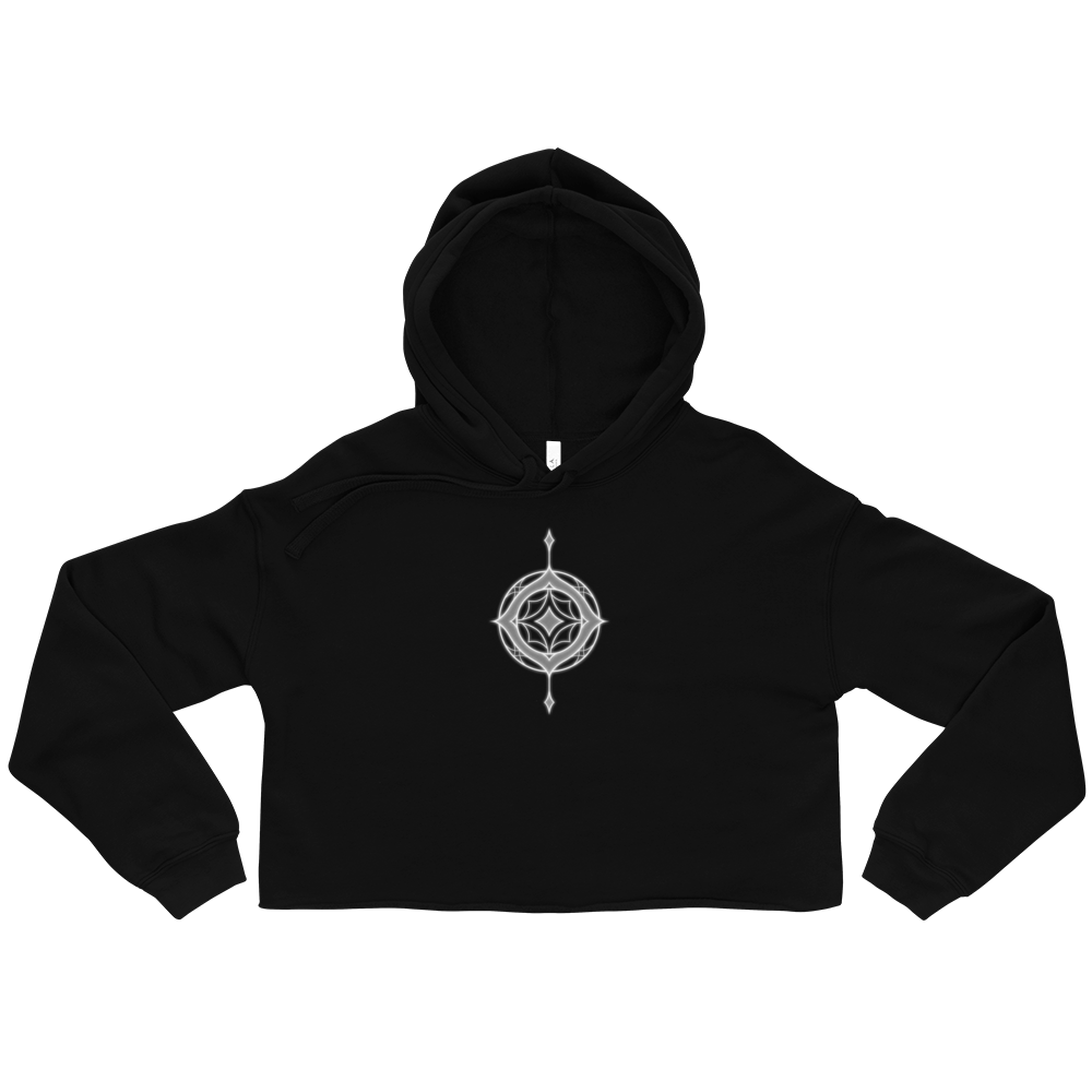 Image of The Mark of Magic Cropped Hoodie