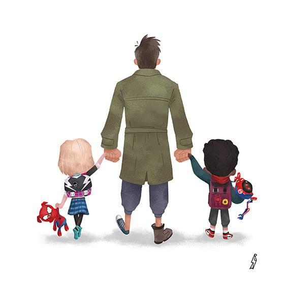 Image of Andry Rajoelina - Spider Verse Family
