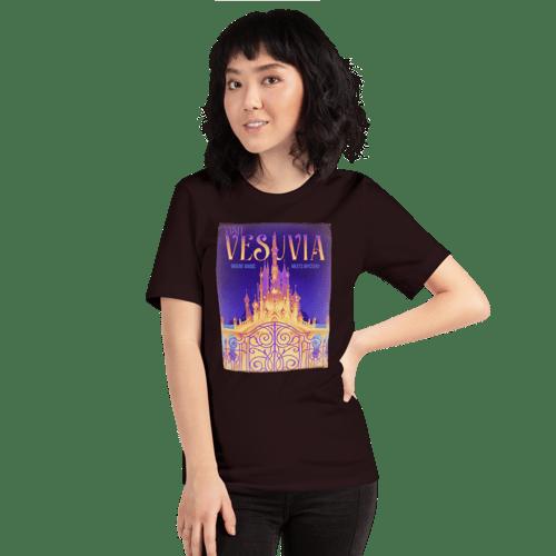 Image of Vesuvian Postcard T-Shirt