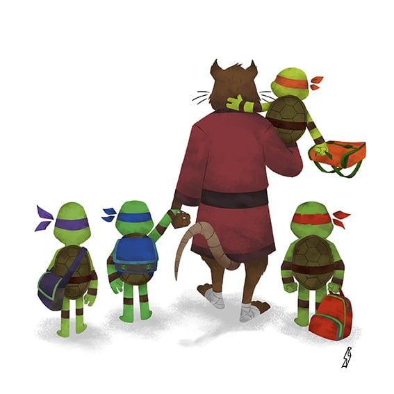 Image of Andry Rajoelina - Ninjas Family