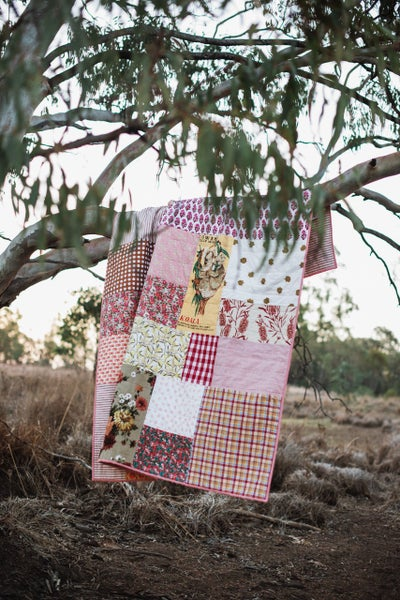 Image of Buttercup the Koala king single size quilt {ready to ship}