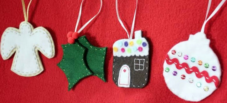 Image of SEW AND DECORATE CHRISTMAS DECORATIONS - MULTIPLE DATES