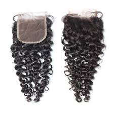 Image of Deep Curly Lace Frontal Closure