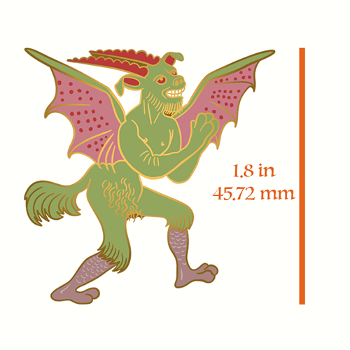Image of Devout Devil Pin