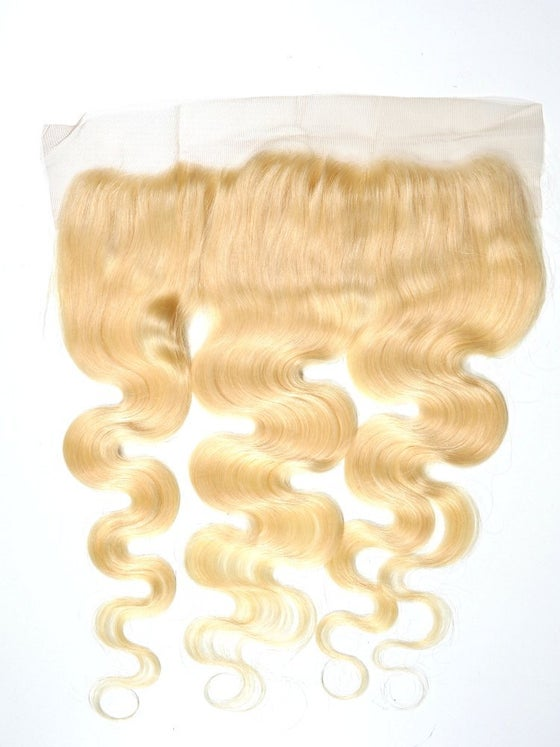Image of Body Wave Lace Frontal Closure - Russian Blonde