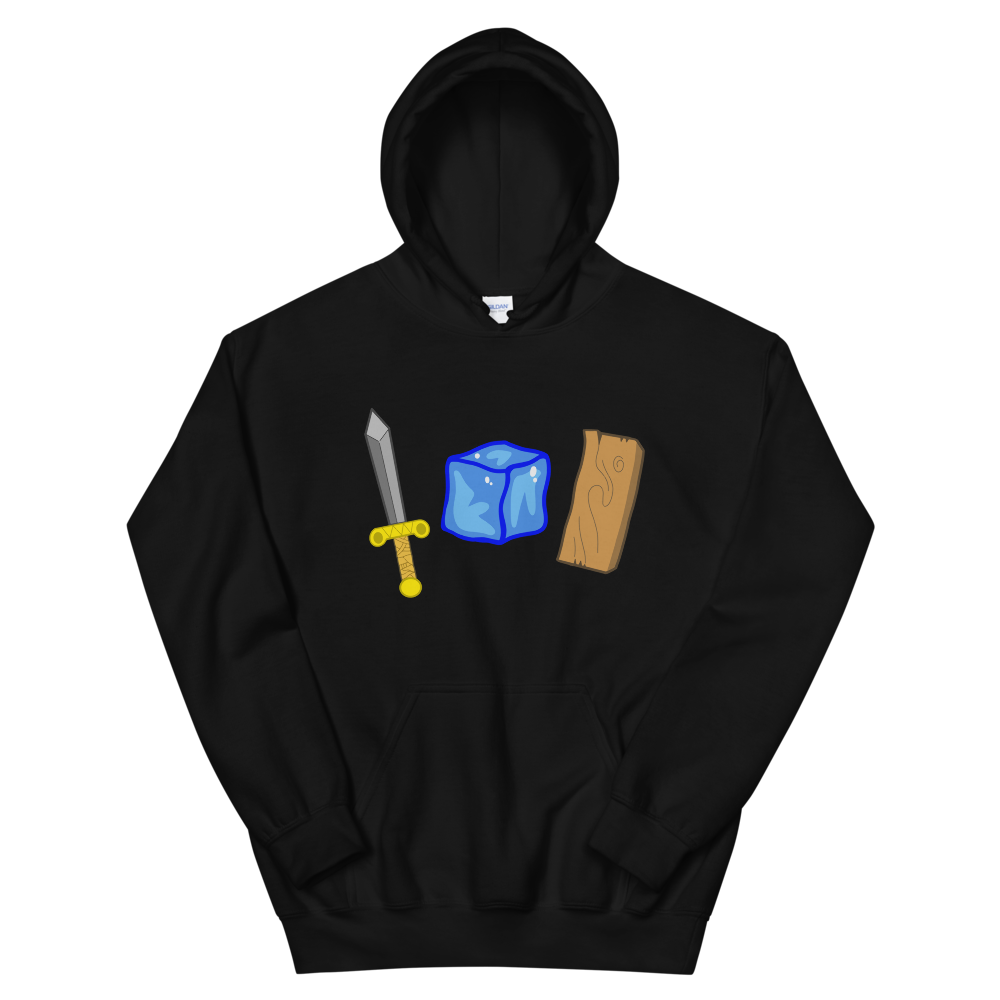 "Image of ""BLADE-ICE-WOOD"" HOODIE"