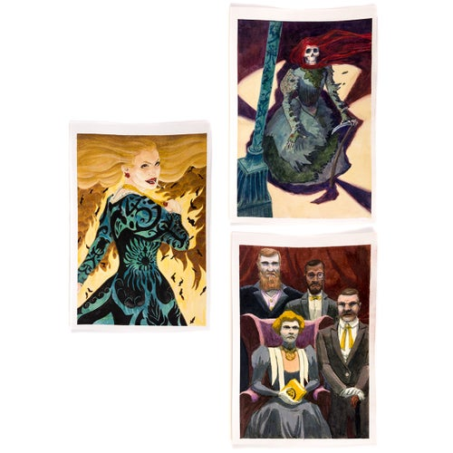 Image of Yellow King RPG Original Paintings