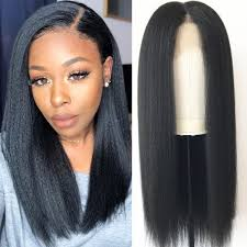 Image of Kota Straight Transparent Lace Front Wig