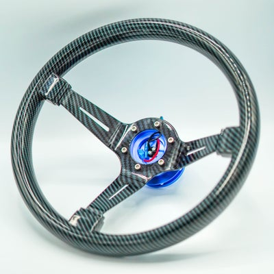 Image of Hydro Carbon Steering Wheel