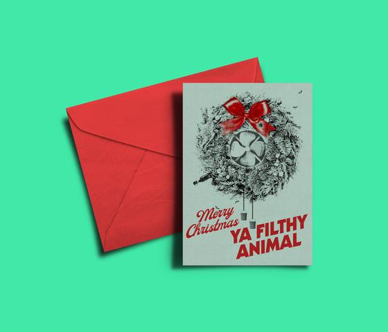 Image of Merry Christmas Ya Filthy Animal! - Home Alone Christmas Card