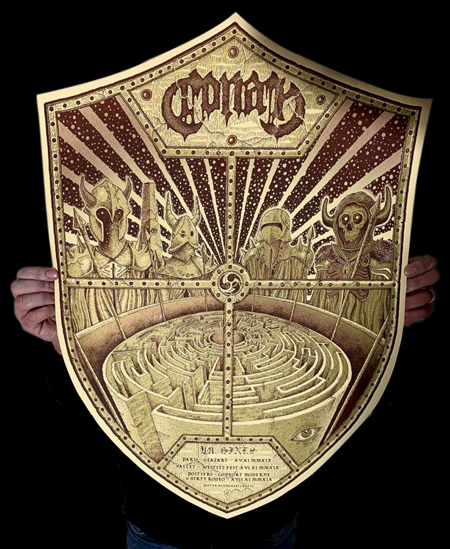 Image of Conan gig poster