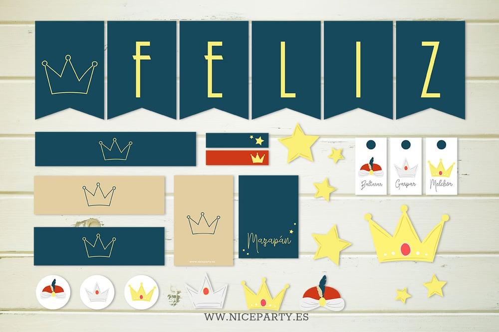 Image of Kit impirmible Reyes Magos