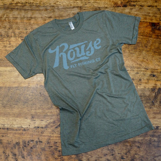 Image of Classic Vintage Green Tee