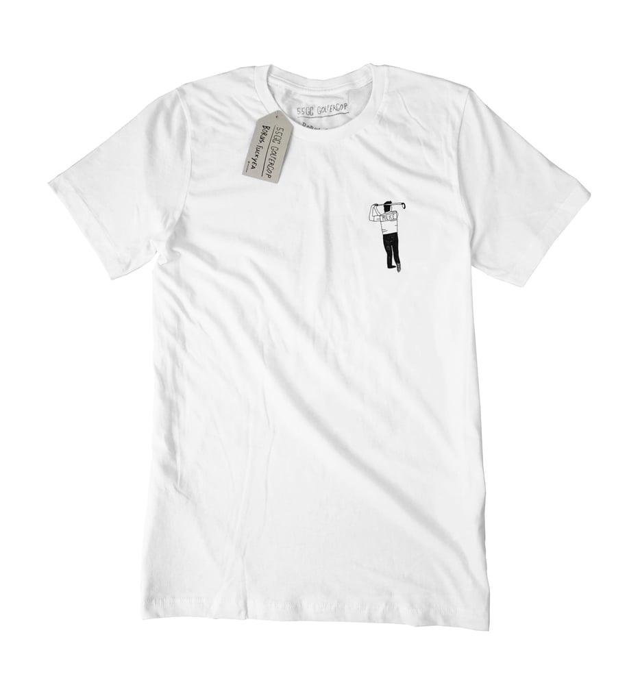 Image of Golfercop shirt worn by Emma