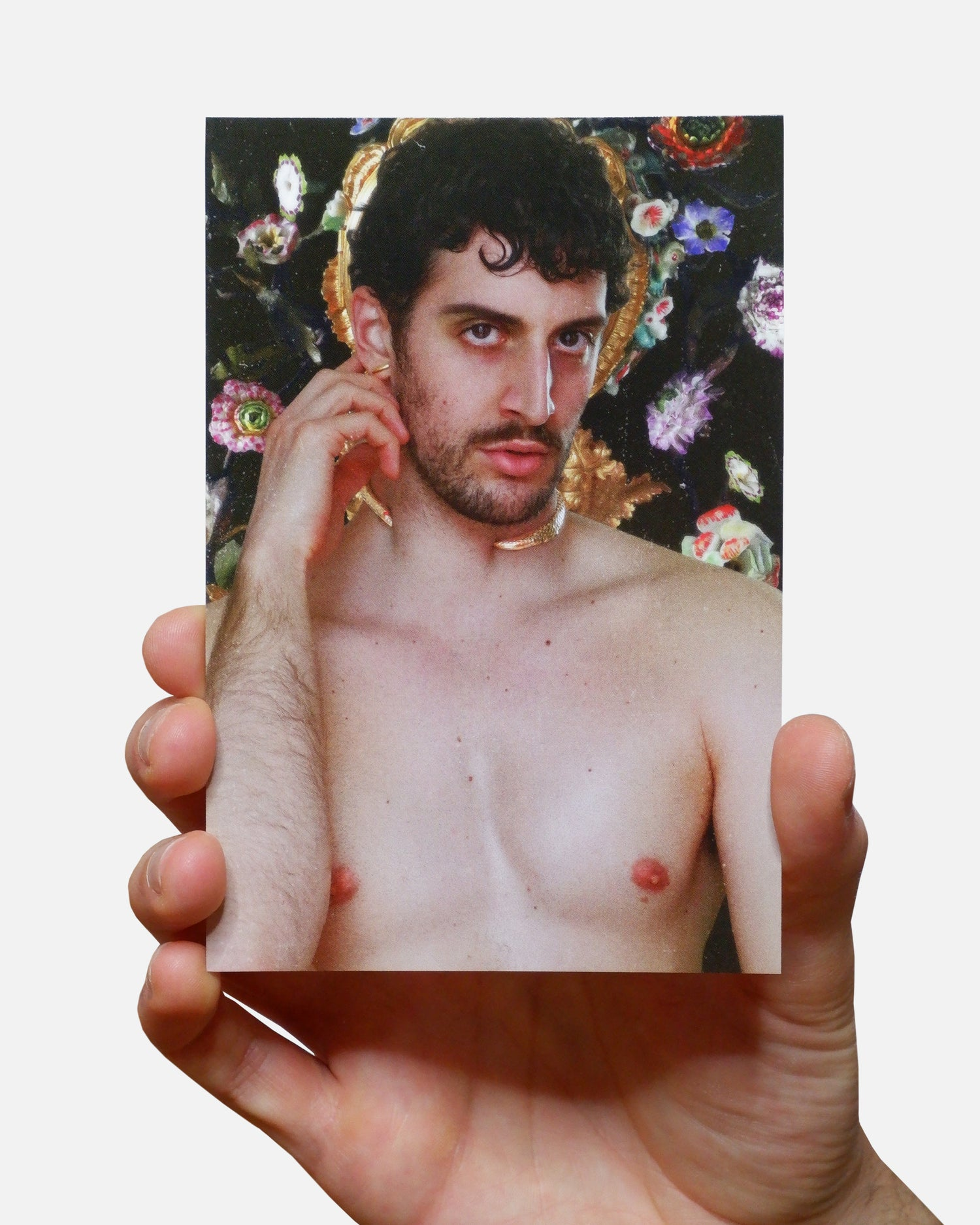 Image of 1PC ADAM AND STEVE I POSTCARD + WRITTEN MESSAGE