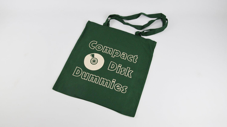 Image of Bottle Green Logo tote bag