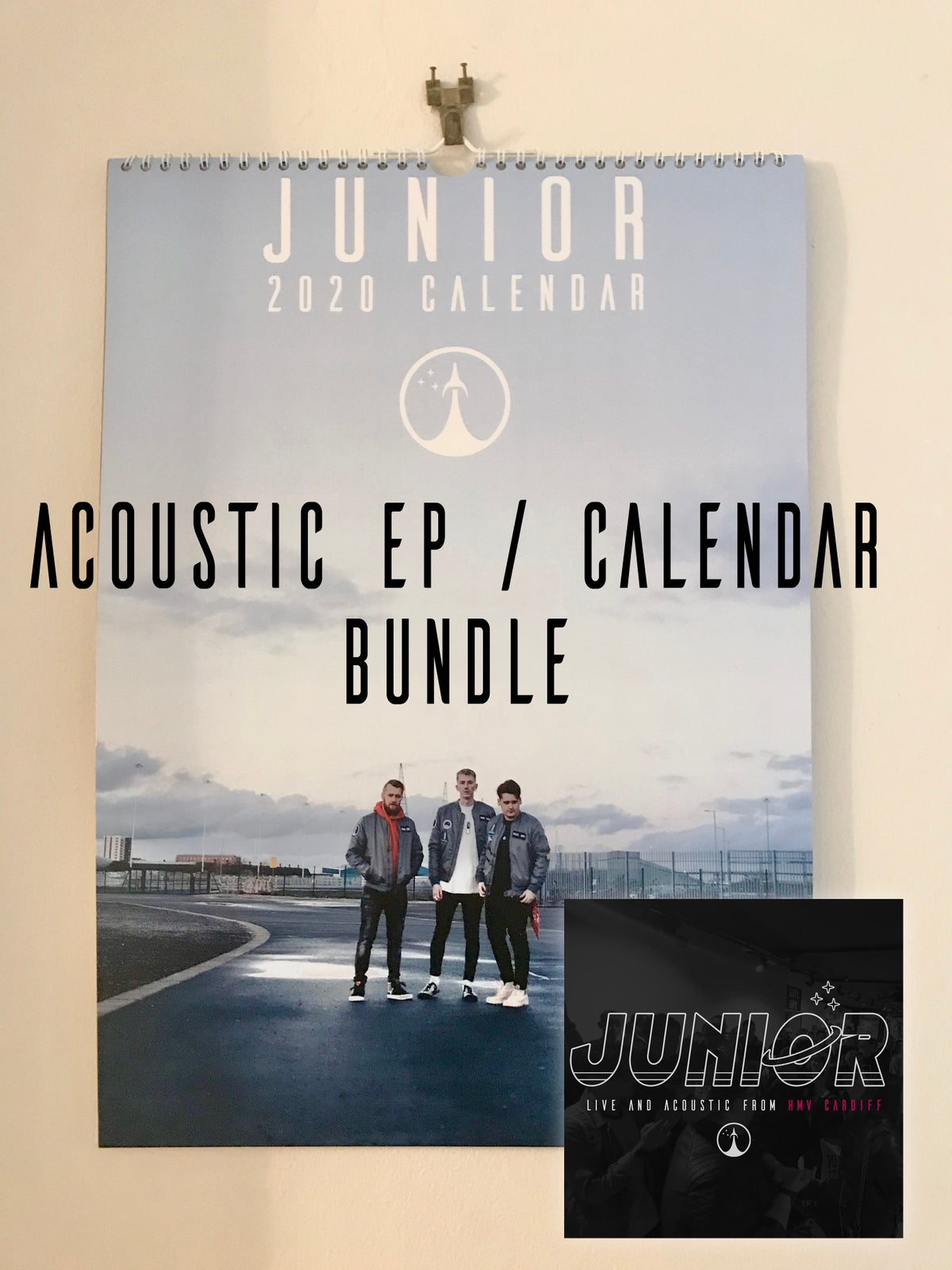 Image of *BUNDLE* Junior: Live and Acoustic from HMV Cardiff/ 2020 Calendar
