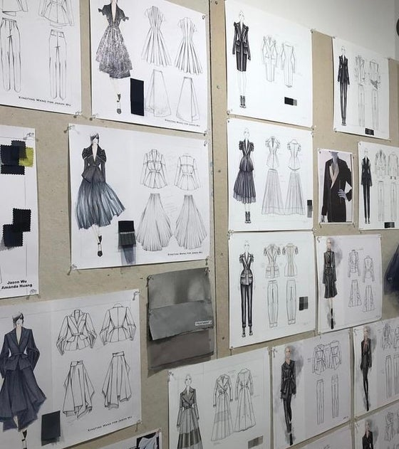 Image of Fashion Sketching (Ages 14 and up) Adults also welcome