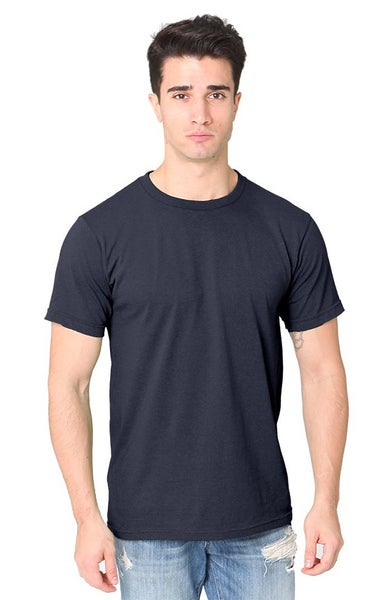 Image of Navy Unisex Recycled T Shirt