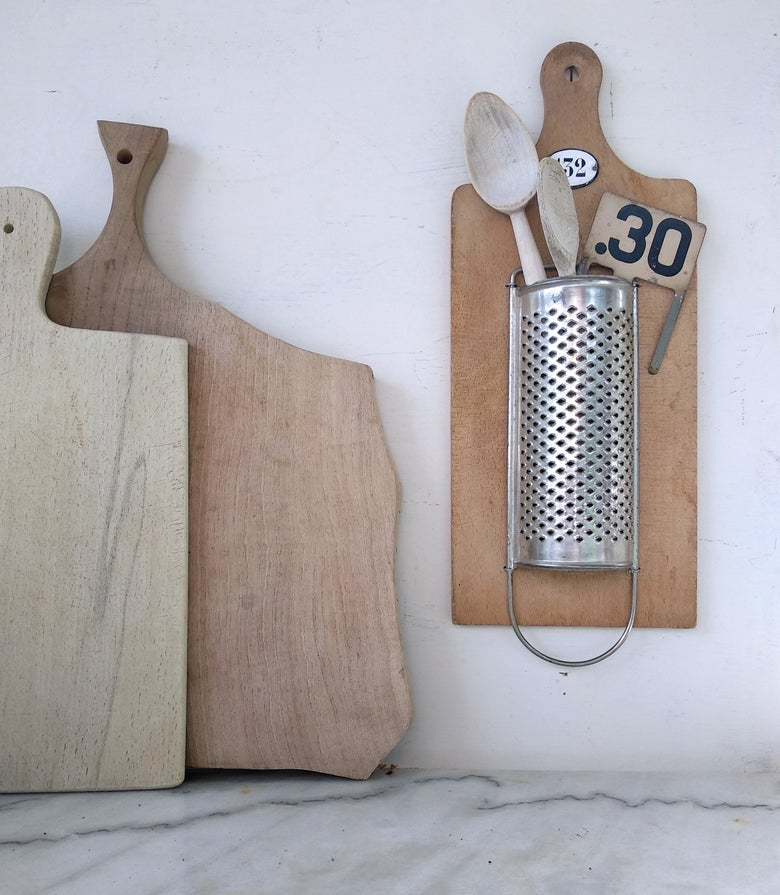 Image of Upcycling. Râpe à fromage porte-couverts