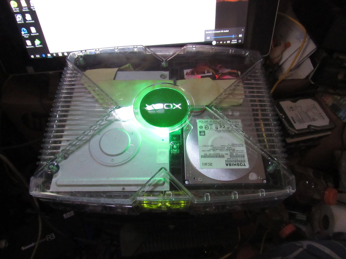 Image of Modifed Xbox 250gb - 3tb GHOST CASE - LIMITED EDITION CUSTOM
