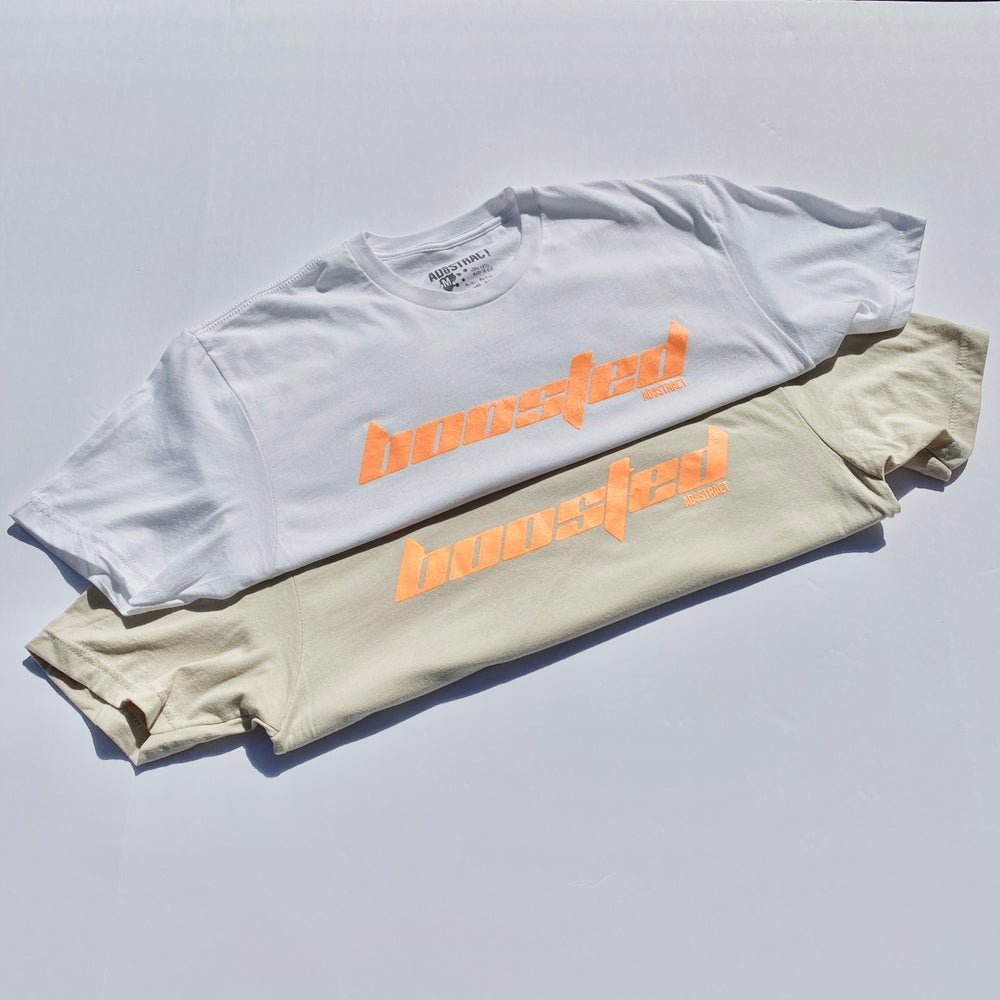 "Image of BOOSTED ""CALABASAS"" CLAY --- T-SHIRT"