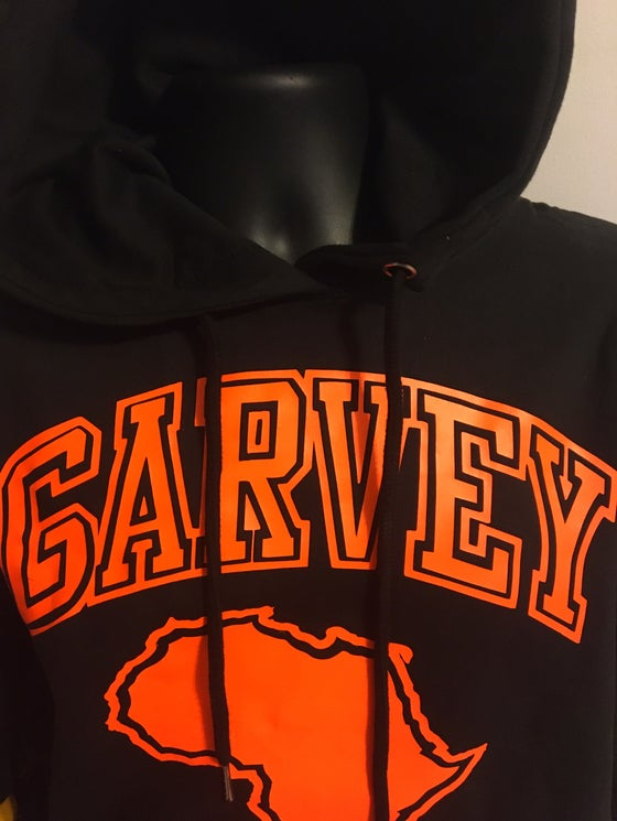 Image of GARVEY ORANGE Orange 🍊 Hoody