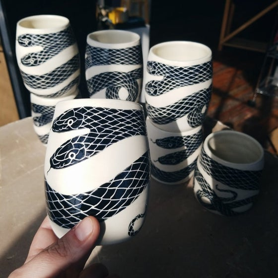 Image of Φίδι (Snake) cup *January shipping*