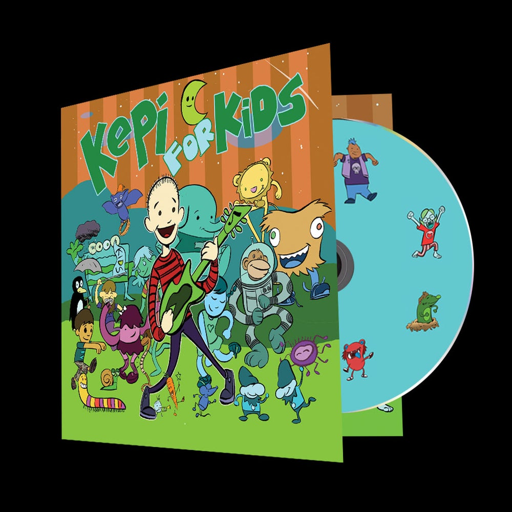 """Image of CD: Kepi Ghoulie """"Kepi For Kids!"""""""