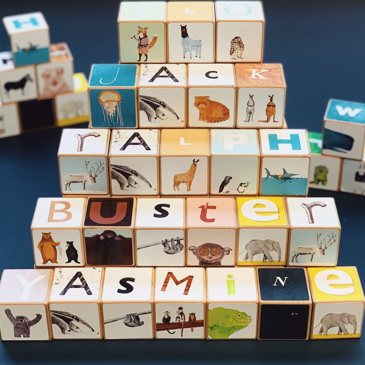 Image of Alphabet Block Letter