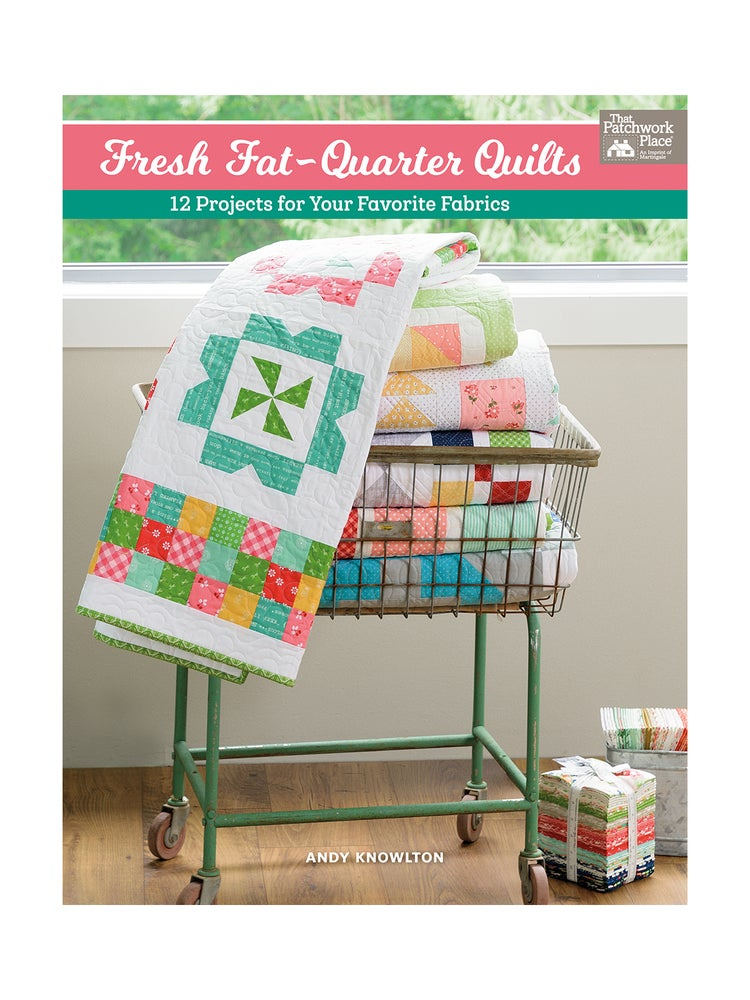 Image of Fresh Fat Quarter Quilts book