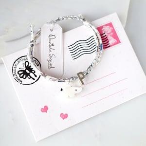 Image of Personalised polar bear bracelet