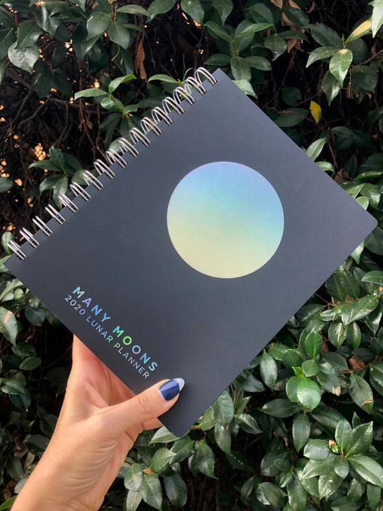 Image of MANY MOONS LUNAR PLANNER 2020
