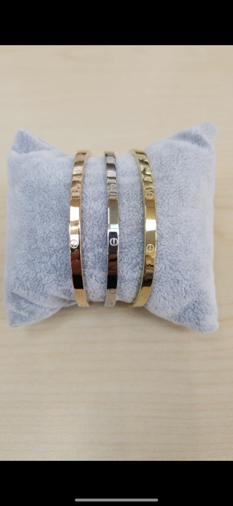 Image of mini CL bracelets (comes with all three colors)