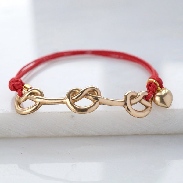 Image of Love knot bracelet
