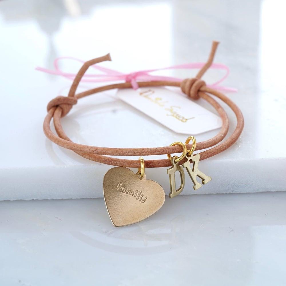 Image of Family leather bracelet