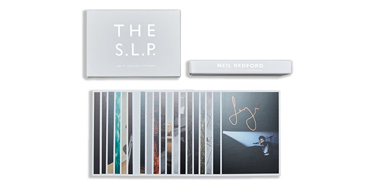 Image of SOUVENIR. LUXURY. POSTCARDS. THE S.L.P LIMITED EDITION BOX SET *SIGNED* **LAST TEN REMAINING SETS**