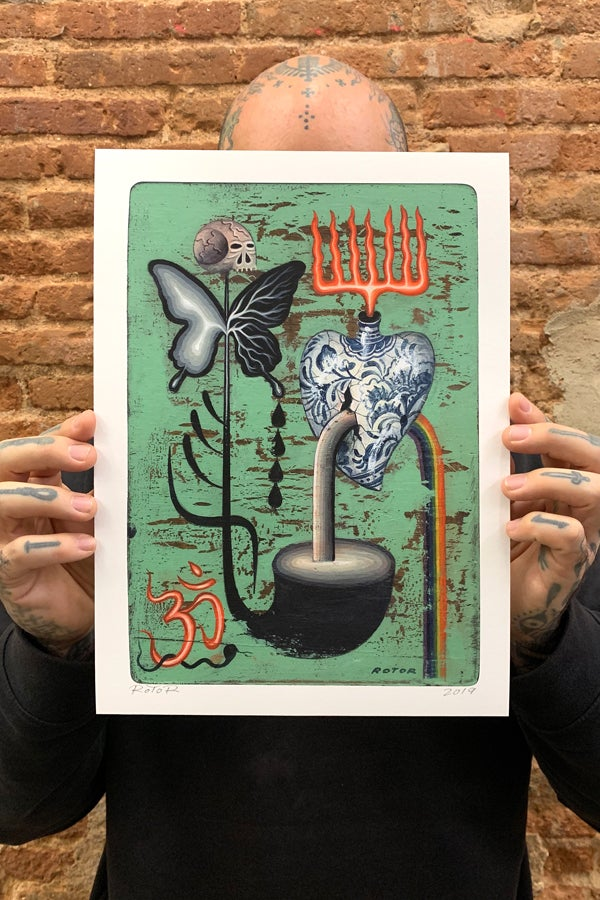 MOKSHA giclée print - proyecto eclipse