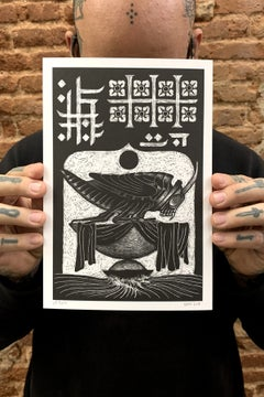 THE GRASSHOPPER LIES HEAVY print - proyecto eclipse
